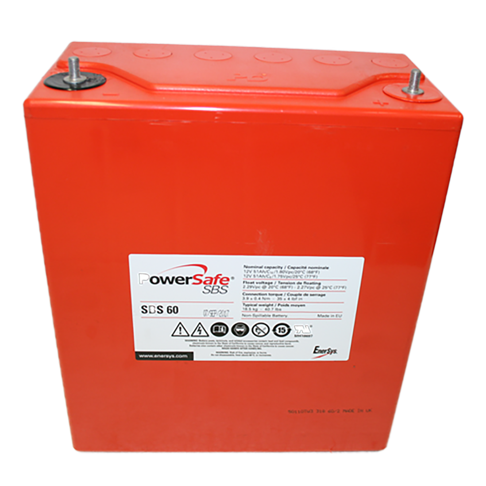 EnerSys PowerSafe SBS 60 12V 51Ah