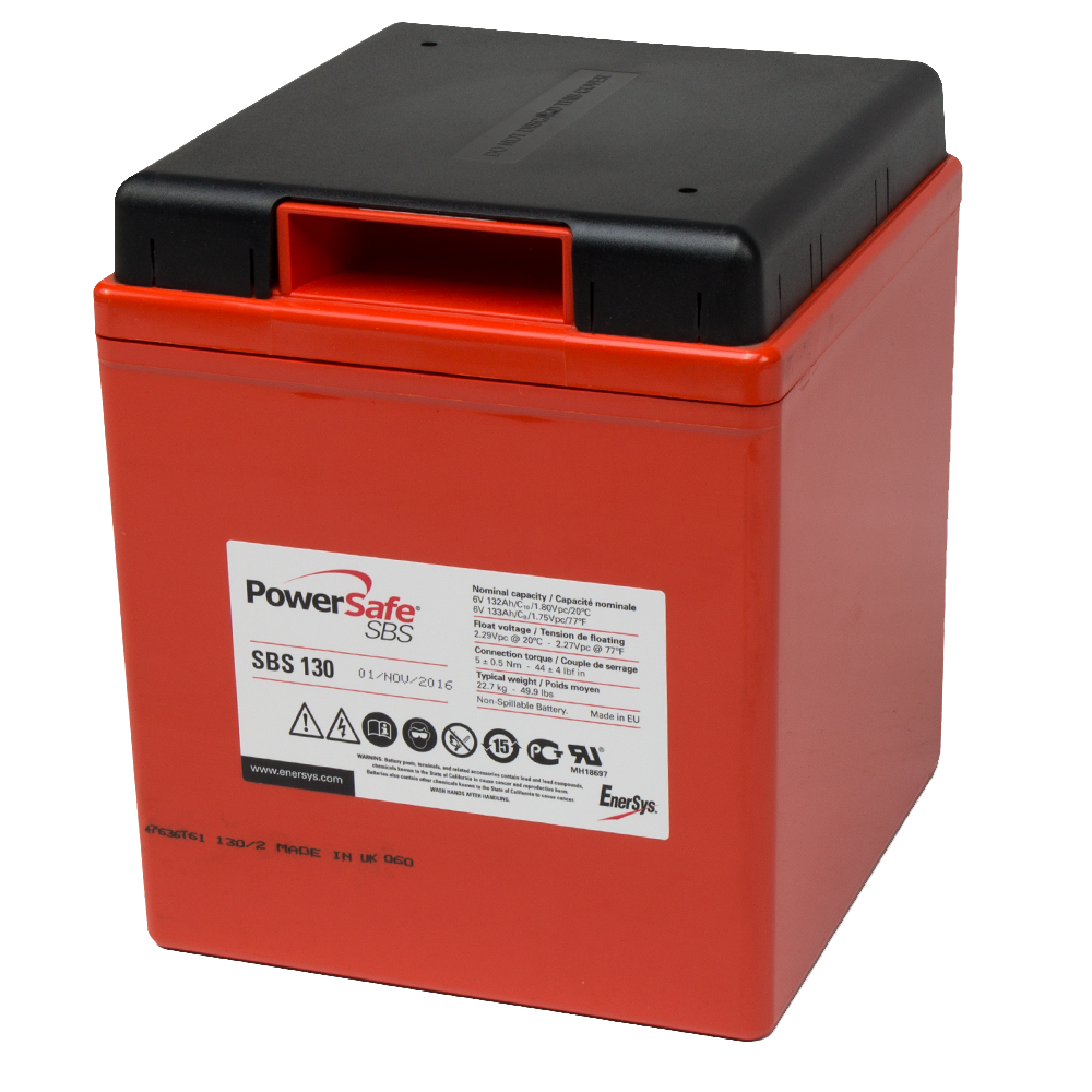 EnerSys PowerSafe SBS 130 6V 132Ah