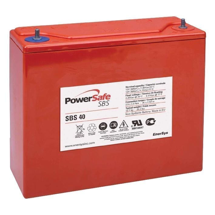EnerSys PowerSafe SBS 40 12V 38Ah