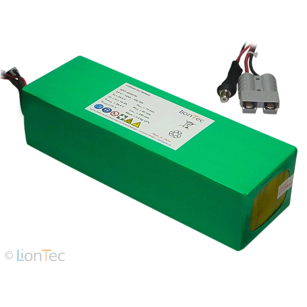 Lihtium- Ion-Battery-Pack 24 V - 18 Ah